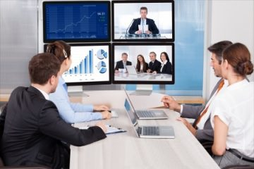 שירותי וידאו קונפרנס