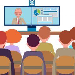 מערכת ווידאו קונפרנס ללימוד מרחוק-הרצאות-סדנאות